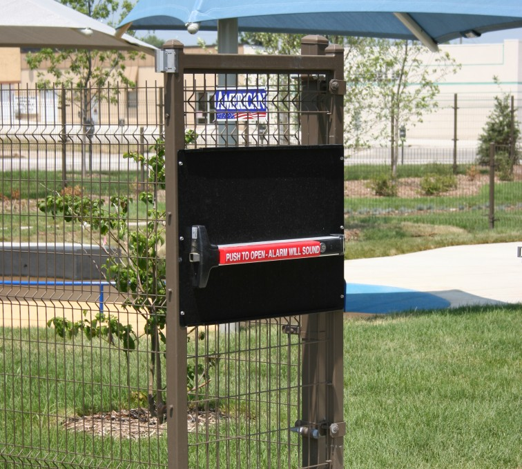 AFC Grand Island - Woven & Welded Wire Fencing, 1241 Omega Panic Door