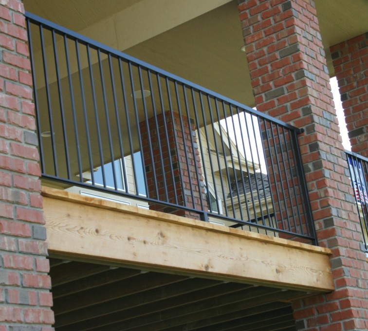 AFC Grand Island - Custom Railing, 2214 Deck Railing