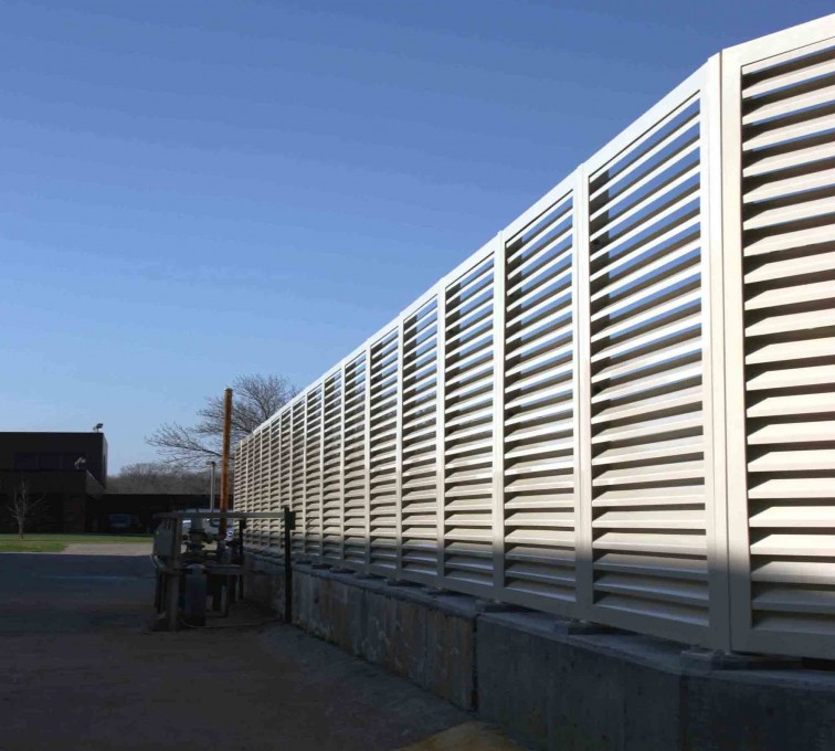AFC Grand Island - Louvered Fence Systems Fencing, 2224-Louvered-Fence-Web