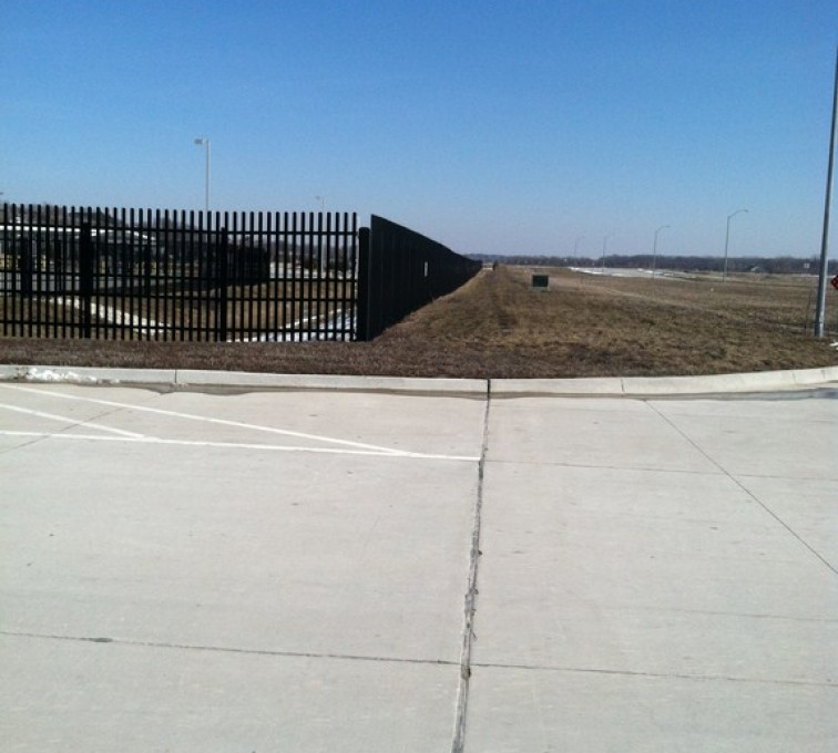 AFC Grand Island - K-Rated Vehicle Restraint Systems Fencing, 8' Crash Rated Ornamental Impasses - AFC - IA