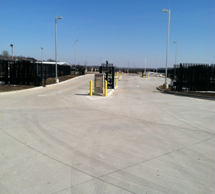 AFC Grand Island - K-Rated Vehicle Restraint Systems Fencing, 8' Crash Rated Ornamental Impasse 7 - AFC - IA