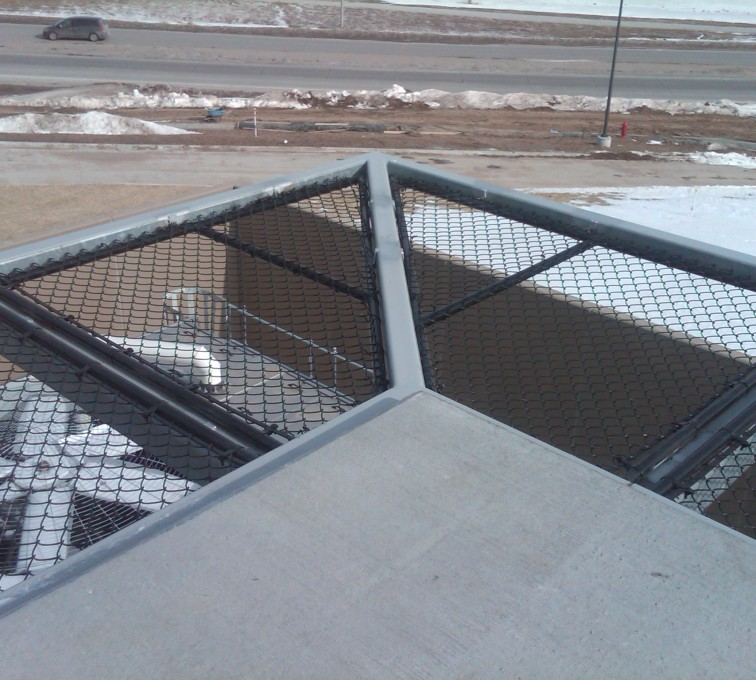 AFC Grand Island - Chain Link Fencing, Bellevue Hospital 25th and Cornhusker(10)
