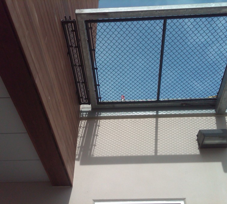 AFC Grand Island - Chain Link Fencing, Bellevue Hospital 25th and Cornhusker(12)