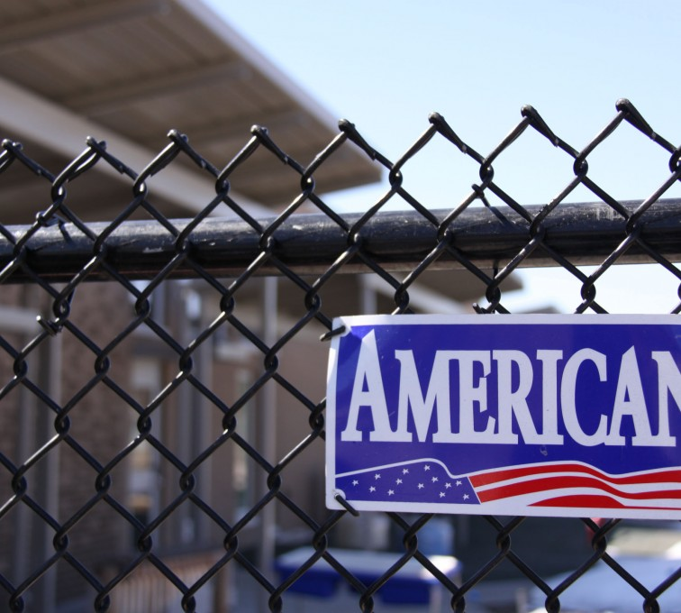 AFC Grand Island - Chain Link Fencing, Black Vinyl Chain Link Fence