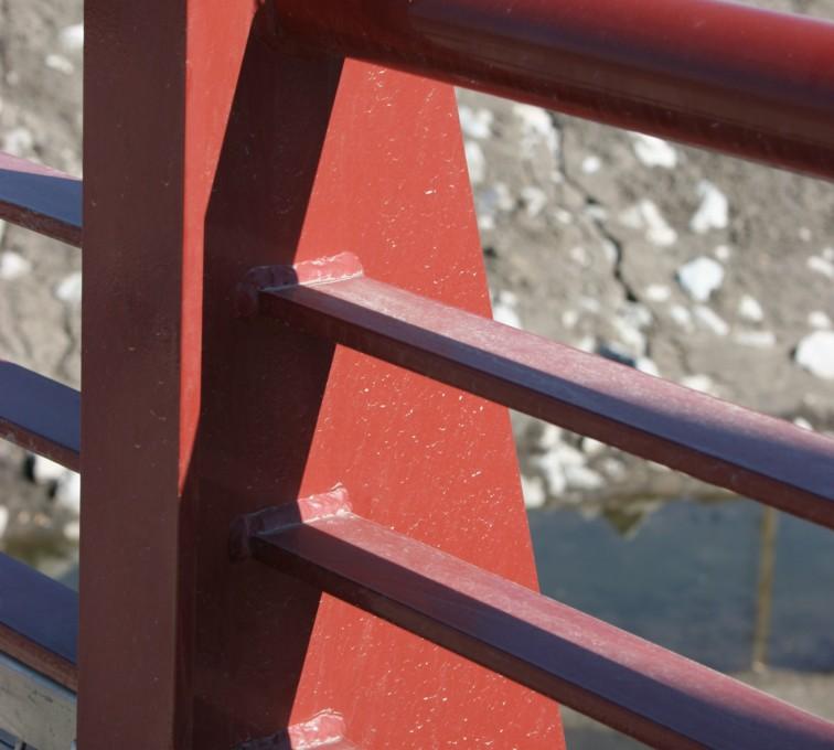 AFC Grand Island - Custom Railing, Vine 3