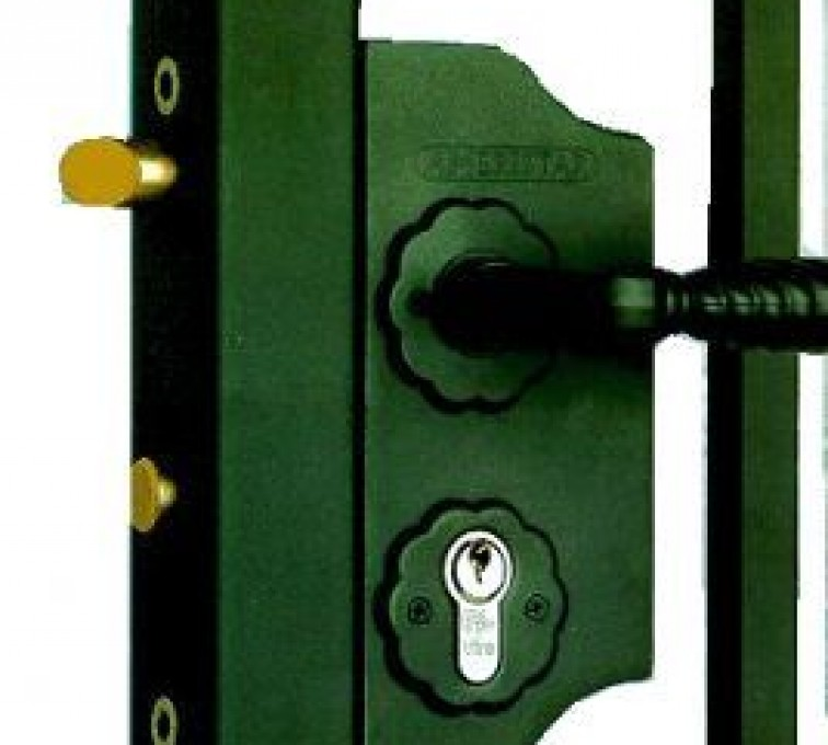 AFC Grand Island - Accessories, Amerilock-Ornamental Fence Gate Lock