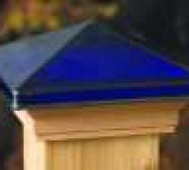 AFC Grand Island - Accessories, Decorative Glass Cedar Fence Post Cap