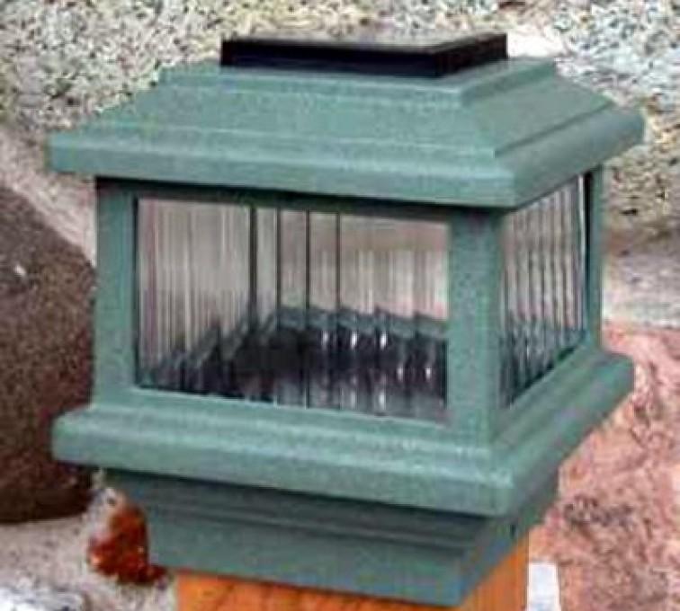 AFC Grand Island - Accessories, Solar Cap-Wood Fenc Post